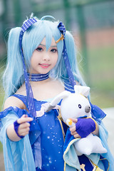 DSC00625 (RamaWangFlickr) Tags: cwt48day1 20180303 台灣大學體育館 sonya7 contaxcarlzeisssonnar18028t cosplay coser cosplayer vocaloid 初音未來 露西 雪初音2017