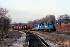 SEAL at Ridgefield Park (Erie Limited) Tags: conrail cr riverline emd sd50 ridgefieldparknj train railfan railroad