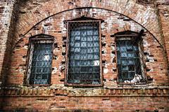 III fort, Kaunas (CarolineKarolyteaPhotography) Tags: architecture ww1 war russian empire fort fortress kaunas city lithuania lietuva europe windows details