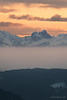 Rising fog (StevenReburgh) Tags: winter alps alpen allgäu tannheimer berge aggenstein bayern bavaria germay landscape mountain peaks fog wood sunset clouds cloudporn sundown snow forest