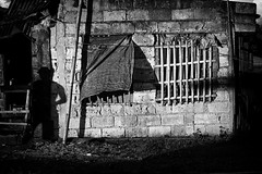 _MG_7512 (jeridaking) Tags: shadow play wall window man frame hollow blocks house home afternoon linao ormoc leyte philippines visayas ralph matres jeridaking fortheloveofphotography canon 5d street photography photographer pinoy filipino mono monotone black white