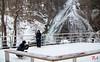 Baby it's cold outside (Benisius Anu) Tags: yutaki yudaki waterfall nikko tochigi japan tourist