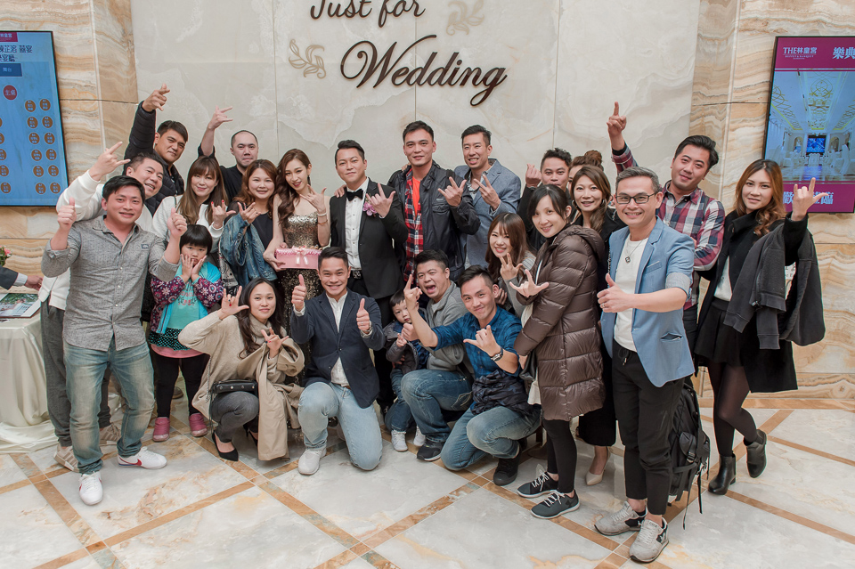 婚攝 高雄林皇宮 婚宴 時尚氣質新娘現身 S & R 166