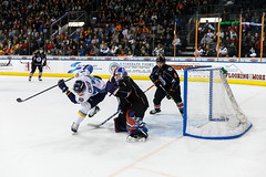 "Kansas City Mavericks vs. Toledo Walleye, January 20, 2018, Silverstein Eye Centers Arena, Independence, Missouri.  Photo: © John Howe / Howe Creative Photography, all rights reserved 2018. • <a style=""font-size:0.8em;"" href=""http://www.flickr.com/photos/134016632@N02/39839480981/"" target=""_blank"">View on Flickr</a>"