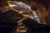 Looking Back (Kirk Lougheed) Tags: carlsbadcaverns carlsbadcavernsnationalpark newmexico usa unitedstates cave cavern landscape nationalpark outdoor park