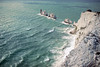 The Needles (désign) Tags: england needles sea cliff cliffs stone structure wave waves water wasserreflektion wasser theneedles isle wight beacon lighthouse red