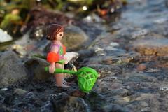 Kätscher 2 (Klickystudios) Tags: playmobil outdoor ostsee strand wasser