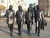 The Beatles, Liverpool, England (teresue) Tags: 2017 liverpool merseyside thedocks england uk greatbritain unitedkingdom beatles publicart statues georgeharrison ringostarr johnlennon paulmccartney pierhead