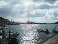 漁港 fishing port