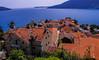Bay of Kotor and Herceg Novi old town from castle, Montenegro (SheffieldRambler) Tags: montenegro kotor