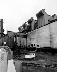 Weirton Steel #8E (rpantaleo) Tags: weirton westvirginia unitedstates us steel mill blackandwhite steelmill rustbelt demolition