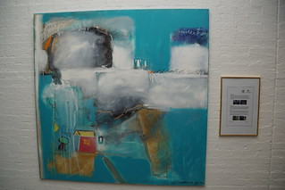 Plaatsing schilderij 15 jarige Maria Eduarda uit Brazilië in de hal van het gemeentehuis Meierijstad Veghel