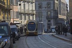Milano Tram 7513 (Dirk Buse) Tags: milano lombardia italien ita mailand italia it tram strasenbahn strase city street life olympus omd em1 zuiko pro 12100 mft m43 urban travel