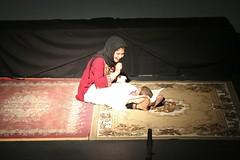 Ambassador Kamala Lakhdhir  at refugees theatre performance (United States Embassy Kuala Lumpur) Tags: ambassador kamala lakhdhir refugees theatre performance