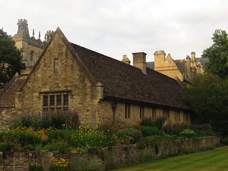 Christ Church college, Merton Grove, Oxford, Oxfordshire, Angleterre, Royaume-Uni.