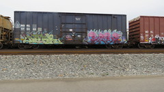 IMG_1416 (jumpsoner) Tags: traingraffiti trains traingraff trainspotting tracksides benching benchingsteel benchingtrains bencher boxcars benchingfreights bgsk benchinhsteel railroadphotography railroad railfan graffiti graffculture freights freightculture freightgraffiti foamer foamers freghtculture