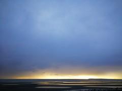 Genesis... (Beeke...) Tags: minimalistic landscape landschaft light nightandday stormclouds darkclouds clouds ocean evening sunsets canada britishcolumbia horizon lightatthehorizon