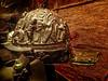 Ornate helmet found in the gladiator barracks in Pompeii Roman 1st century CE (mharrsch) Tags: helmet armor armour gladiator bloodsport entertainment roman bronze pompa pompeii 1stcenturyce omsi portland oregon mharrsch