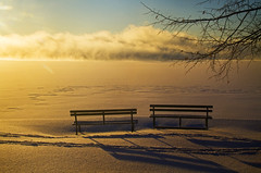 Born to Chase the Sun (Matt Champlin) Tags: kelliepickler gypsy onthemove goodmorning sunrise skaneatles winter cold ice lovely snow life love movingon nature landscape peace peaceful quiet arctic frozen flx fingerlakes canon 2018