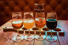 This Flight Tonight (ianrwmccracken) Tags: beer brewdog flight sony a6000 edinburgh glass bar punk hazy jane cocoa psycho native son