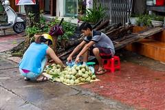 Cherimoya nebo-li custard apple (zcesty) Tags: vietnam24 ulice stánek prodavač ovoce domorodci custardapple vietnam hagiang dosvěta tphàgiang hàgiang vn