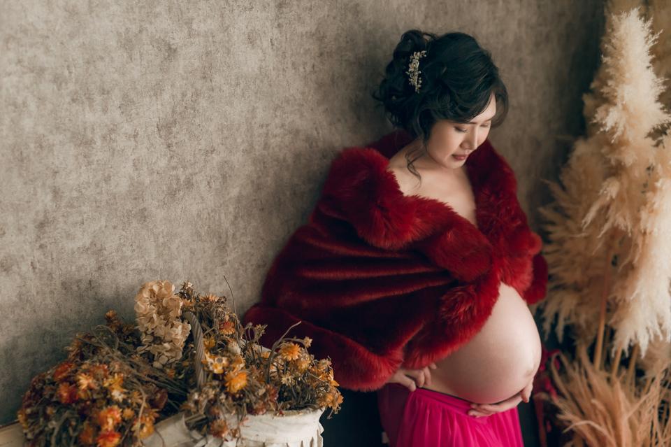 推薦 台南孕婦照 清新唯美風格 YY 022