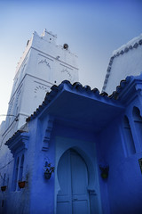 Chefchaouen Blue (Kathleen Waters Photography) Tags: blue chefchaouen morocco travel architecture door