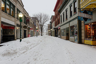 Jay Street During the Snow Storm