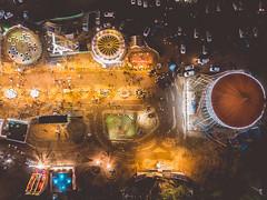 Aluva Manalpuram Carnival ground (Gulfu) Tags: aluva manalpuram siva shiva temple shivarathri carnival ground alwaye mahadeva aerial photography gulfuphotography drone dji mavic air travel gaint wheel festival kerala india
