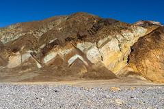 Death Valley 158 (Tasmanian58) Tags: deathvalley trekkers mountain desert california usa sony loxia loxia250 a7ii sky blue geology rocks sun heath
