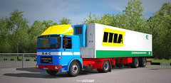 Roman Diesel - a piece of history [ETS2] (gripshotz) Tags: roman diesel dac camion brasov romania euro truck