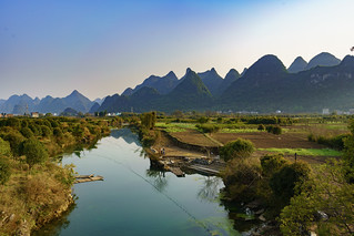 A Small Village in Guilin