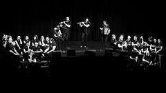 Ligne musicale (mifranc91) Tags: blackandwhite bw concert coulisses d700 lumières monochrome nikon noiretblanc scène spectacle troupe zicos