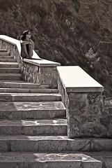 dreamy (Uli He - Fotofee) Tags: ulrike ulrikehe uli ulihe ulrikehergert hergert nikon nikond90 fotofee treppe verträumt