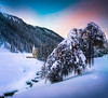 Little Church in the Valley (Croosterpix) Tags: landscape winter snow church idyllic mountains croosterpix sony a7r nikkor28300