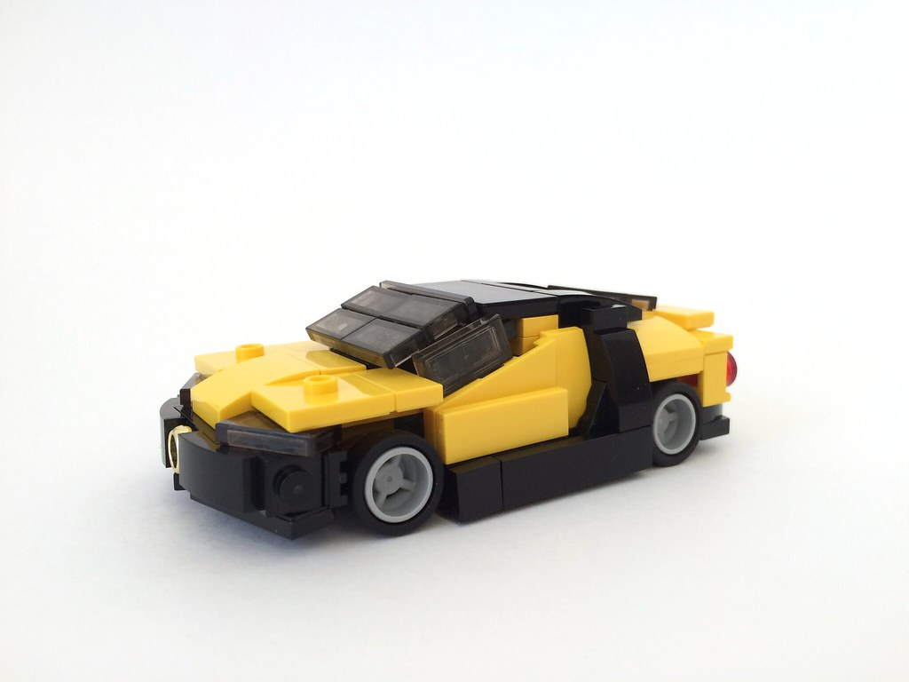 how to build a bugatti veyron with lego
