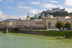 Salzburg, Austria (chrisdingsdale) Tags: alps austria castle center centre fort fortress historic historical hohensalzburg mountains mozart roofs salzburg salzachriver