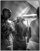 Shoppers, Brikama market (G. Postlethwaite esq.) Tags: brikama fujifinepix lightroom topazdenoise blackandwhite candid compact monochrome pointandsquirt streetscene market women shoppers