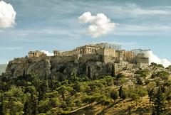 The Parthenon (jooweb) Tags: parthenon acropolis street athens greece traveltogreece visitgreece landscape sky