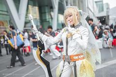 Nero Claudius (Bride) (Tumeatcat) Tags: anime cosplay portrait nikon d800 fate fategrandorder fgo saber nero