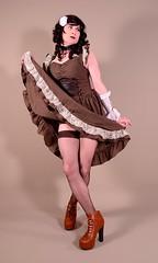 118H3L (klarissakrass) Tags: costume cosplay crossdress heels stockings transgender