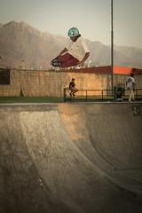 Safety air - Aaron rivas (bairon.roll13) Tags: air inlineskate inline safety bowl skatepark skate rapper helmet 50mm 52mm 28 macro mountain