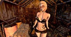 Serbia Shorts - MonaLISA (danaorianaor) Tags: monalisa applemay carolg bloneds truth blondes gacha blog secondliife 187 avatar tattoo