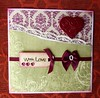 Handmade - with Love... (oh.suzannah) Tags: valentine card greeting