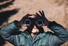 Binoculars (Alessandro Vallainc) Tags: binoculars looking man through binocular holding young male background person nature business adult closeup portrait forest mountain people white summer concept travel up outdoor close