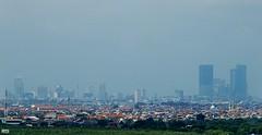 Skyline Surabaya (Detta Priyandika) Tags: surabaya suroboyo skyscrapers skyscraper skyline scape sustainable livable city urban life garis langit gedung pencakar deretan laut sea selat strait madura jawa timur east java across
