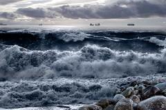 Frangersi (Zz manipulation) Tags: art ambrosioni acqua zzmaqnipulation water sea flutti onde spiaggia marina mare