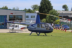 G-SIRD Robinson R44 Raven II Booker High Wycombe Aero Expo 03rd June 2017 (michael_hibbins) Tags: gsird robinson r44 raven ii booker high wycombe aero expo 03rd june 2017 aviation aircraft aeroplane aerospace airplane aeroexpo helicopter heli g