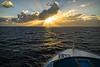 Sunset at Sea (Tony Steinberg Photography) Tags: anchor australia beautiful blue bow clouds coralsea cruiseship cruising deck fineart getaway gold golden heading horizon image landscape lightbeams magnificent metal nature nauticalvessel ocean orange outdoors outside peaceful photo photograph picturesque queensland quiet rays sailing scene scenic sea seatransport seascape serene ship sky skyscape steel sun sunlight sunrise swimmingpool tonysteinberg tranquil transportation travel water