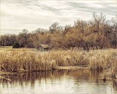 Across the Pond (A Anderson Photography, over 2.2 million views) Tags: barn canon reflections pond reeds